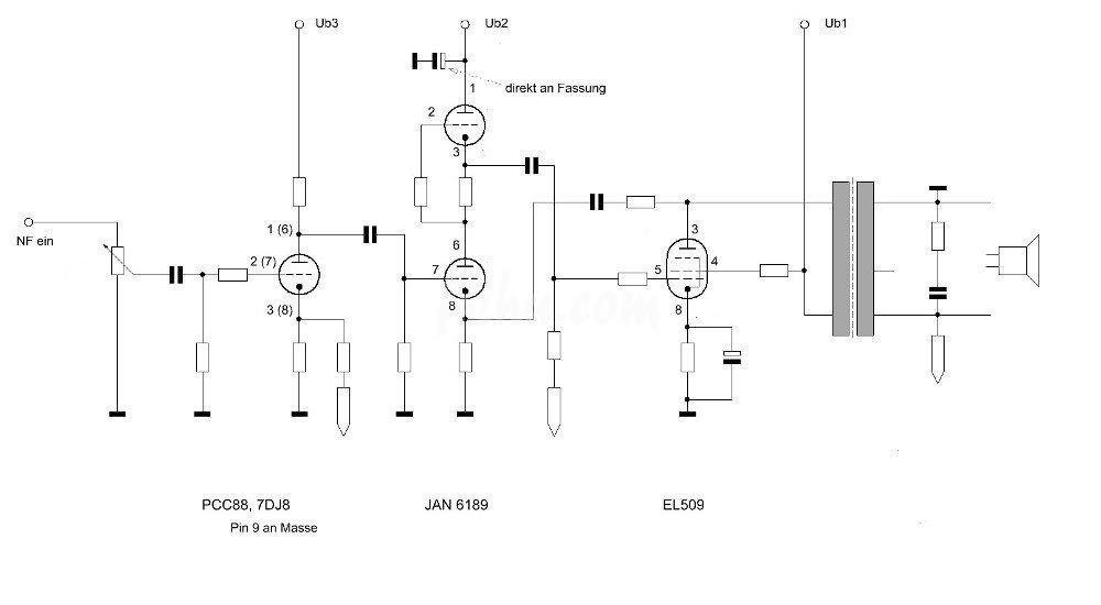 El Schaltplan on Single Ended Tube Amp Schematic