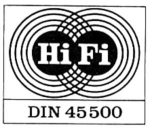 HiFi DIN-Norm 45500